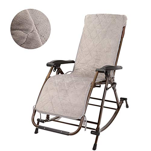 LIXIONG Mecedora Interior Sillón Plegable Sillones con Reposacabezas Sling Chair Gravedad Cero...