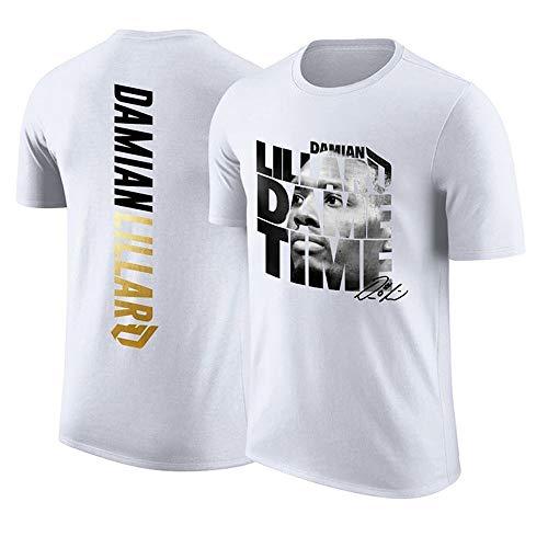QKJD NBA Baloncesto Uniformes Camiseta de Baloncesto Lillard