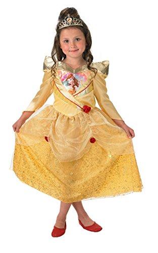 Rubies Officielle pour Enfant Shimmer Belle Costume – Large
