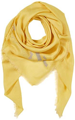 BOSS Damen Natini Schal, Gelb (Bright Yellow 730), One Size (Herstellergröße: ONESI)