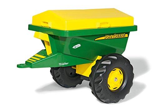 rolly toys | rollyStreumax John Deere | großer Einachsanhänger für Kinder Trettraktoren | 125111