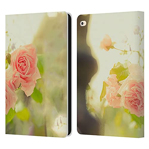 Head Case Designs Officially Licensed Simone Gatterwe Pink Roses Austria Leather Book Wallet Case Cover Compatible With Apple iPad Air 2 (2014)
