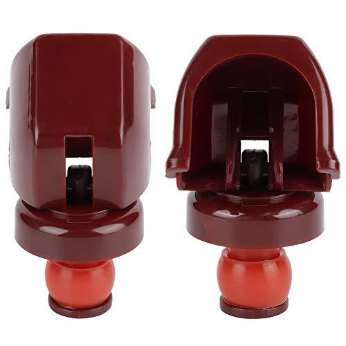AMONIDA Preserver Cork Eleganter Leichter Champagnerstopper, Weinkonservierer, Flaschenstopper Große Luftdichtheit für zu Hause(red)