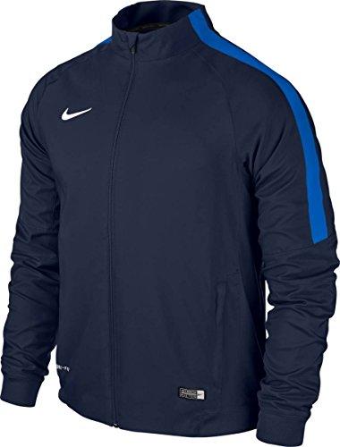Nike Kinder Jacke Sideline Woven Squad 15, Dark Blue/Blue, L