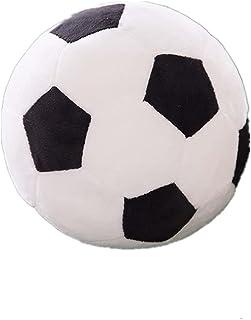 Plush Soccer Balls Fluffy Stuffed Soccer Ball Plush Pillow Soft Plush Soccer Ball Pillow Durable Soccer Ball Stuffed Toy S...