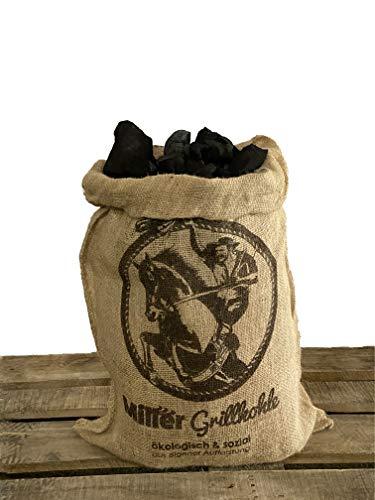 Miller 5 kg Grillkohle, aus nachhaltiger Forstwirtschaft
