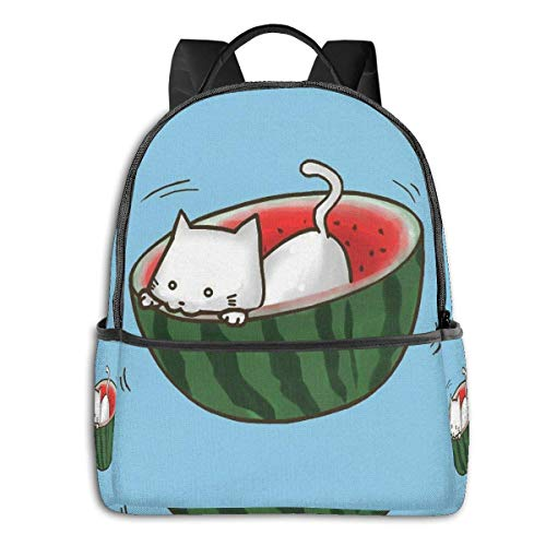IUBBKI Cat Student School Bag School Cycling Leisure Travel Camping Outdoor Backpack