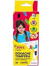 Jovi Etui Temperafarben, 6 x 15 ml, diverse kleuren (520)