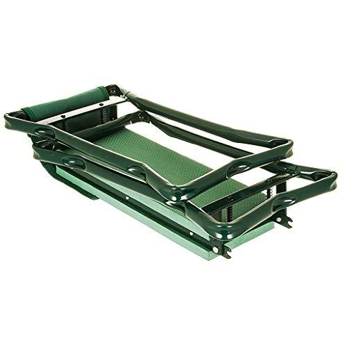 Lovela Einfacher Relax-Gartenkniestuhl mit Werkzeugtasche Einfach zu tragen und zusammenklappbar....