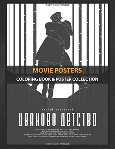Coloring Book & Poster Collection: Movie Posters Ivan's Childhood Иваново детство Movies