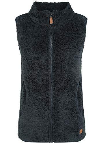 OXMO Theri Damen Weste Fleece Outdoor Weste, Größe:M, Farbe:Insignia B (791991)