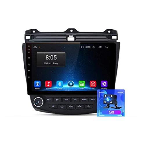 Radio de coche Android 8.1, GPS, pantalla táctil de 9 pulgadas, para Honda Accord 7 2003 – 2007, con control en el volante, Bluetooth, manos libres, Link DAB MP5 SWC, 4G + WIFI2G + 32G