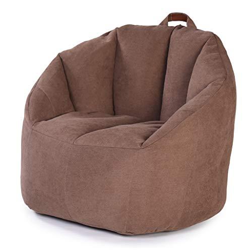 Canapé Sac De Haricots Fauteuil Sac De Haricots avec Mousse Ultra Confortable avec Poignée A des Poches Latérales Convient pour Intérieur Et Extérieur 76 * 68 * 60cm