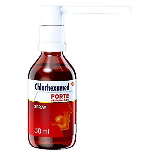 Chlorhexamed forte alkoholfrei 0,2% Spray, 50 ml Lösung