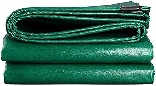 FLY Bache épaisse Résistant à l'usure Imperméable à l'eau en Tissu Ignifuge Camion Yard Usine Ombre Tissu Vert