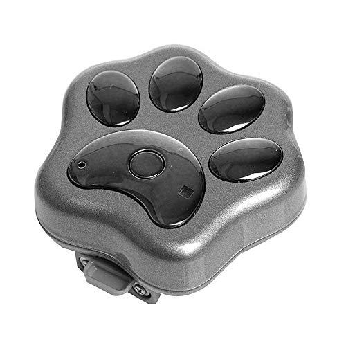 Qyoung Collar rastreador GPS Inteligente para Perro, Gato, Impermeable, localizador de Mascotas antipérdida, con luz LED Intermitente Inteligente y función de Alarma de Geo-Vale, sin cuotas mensuales