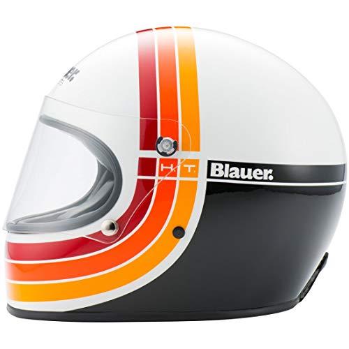 Blauer HT Casque 80'S blanc XL