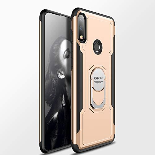 Custodia® Fermezza Smartphone custodia con Anello per Asus Zenfone Max Pro(M2) ZB631KL(Or)