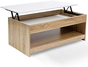 Amazon Fr Table Basse Plateau Relevable