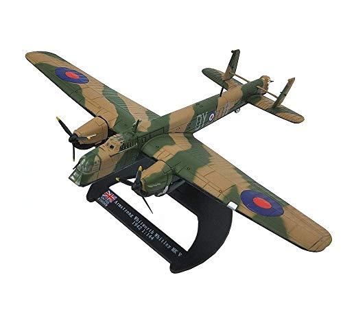 DressU Longevidad 1 // 144 Escala de Combate de aleación Modelo, Militar Armstrong Whitworth Whitley MK V 1942 Regalos for Adultos, 7,1 pulg X6.1Inch Durabilidad