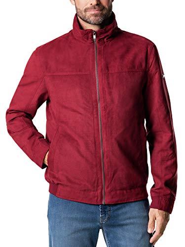 Walbusch Herren Ultraskin Klima Lumber einfarbig Rot 25