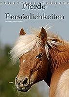 Pferde-Persoenlichkeiten - ausdrucksstarke Gesichter verschiedener Pferderassen (Tischkalender 2022 DIN A5 hoch): Besondere Rassepferde in unterschiedlichen Farben (Monatskalender, 14 Seiten )