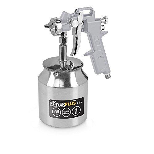 POWERPLUS POWAIR0106 POWAIR0106-Pistola pintura por aspiración (750cc)