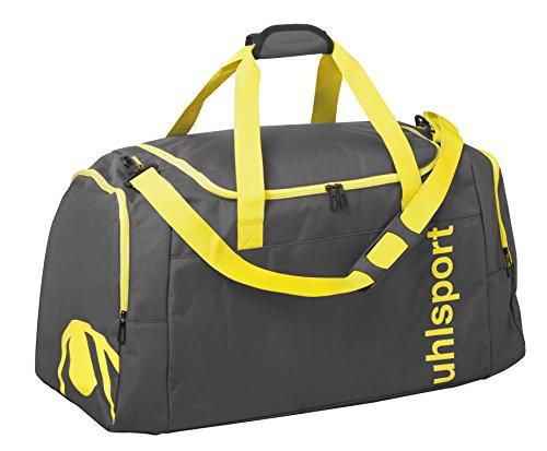 UHL 100425305 Essential 2.0 Sports Bolso de Gimnasio, 45 cm, 75 litros, Anthracita/Fluo Amarillo