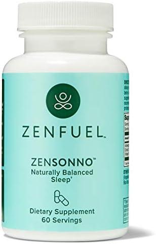Zenfuel Zensonno Natural Relaxing All Night Sleep Maximize Restorative Sleep Wake up Refreshed product image