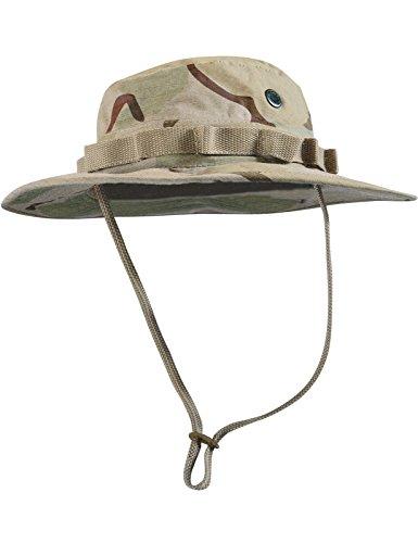 Boonie Hat Buschut GI Army Tropen Hut Camouflage Desert XL