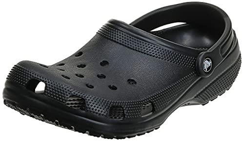 Crocs Unisex Men's and Women's Classic Clog, Black, 6 US