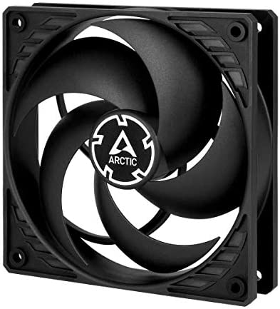 ARCTIC P12 PWM 120 mm Case Fan with PWM Pressure optimised Very quiet motor Computer Fan Speed product image