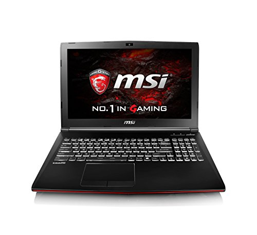 "MSI Leopard Pro GP62MVR 7RF-477XES - Portátil de 15.6"" (Intel Core i7-7700HQ, RAM de 8 GB, 1 TB HDD, Nvidia Geforce GTX 1060, sin sistema operativo) negro - teclado SteelSeries QWERTY español"