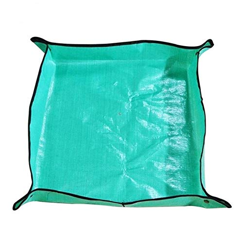 Tegent 1PCS Misch Boden Flächen Pad Lock Pad Topfpflanze ändern Faltbare Wasserdicht Anti-Dirty Thick Garten Pad (Color : 100cm)