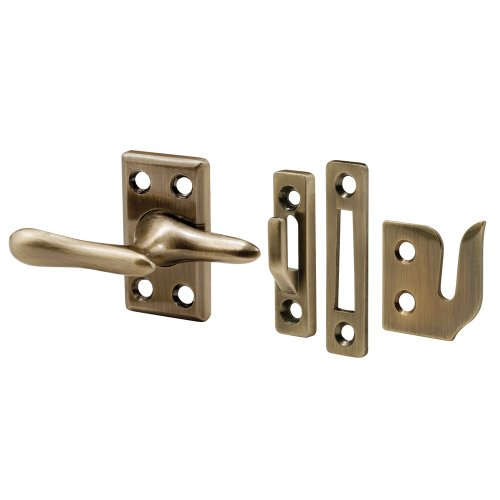 Prime-Line H 3683 Casement Window Lock, Antique Brass Plated