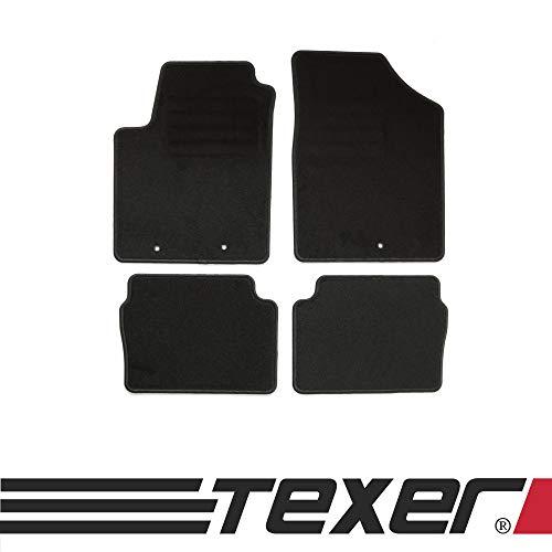 CARMAT TEXER Textil Fußmatten Passend für Hyundai i10 I Bj. 2007-2013 Basic