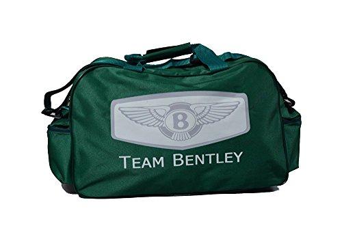 Team Bentley Logo Sporttasche Leichte Seesack Reisegepaeck Duffel Wochenende Uebernachtung Taschen fuer Reisen Sport Gym Urlaub