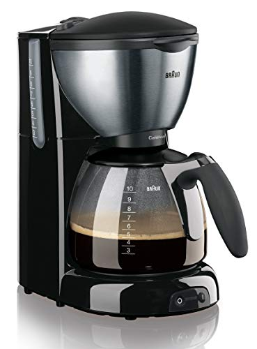 Braun Cafehouse KF 570/1 Filterkaffeemaschine (1100 W) schwarz