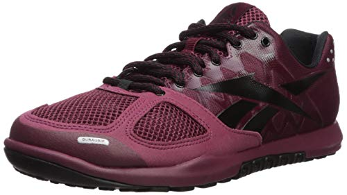 Reebok Men's Crossfit Nano 2.0 Cross Trainer, Rustic Wine/Black, 8.5 M US