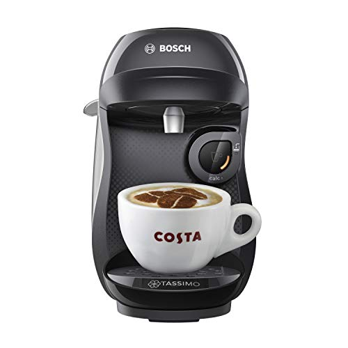 41Nj5kwyiCL. SS500  - TASSIMO Bosch Happy TAS1002GB Coffee Machine 1400 Watt, 0.7 Litre - Black