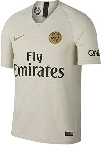 Nike PSG M Nk Vapor Mtch JSY Ss Aw Trikot 2a Paris Saint Germain 17-18 Herren M Knochenfarben/Goldfarben (Light Bone/Truly Gold)