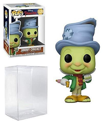 Jiminy Crickett Pop #1026 Disney Pinocchio Vinyl Figure (Bundled with EcoTek Protector to Protect Display Box)