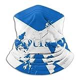 Towel&bag Máscara de la bandera de Escocia para el cuello, bufanda para...