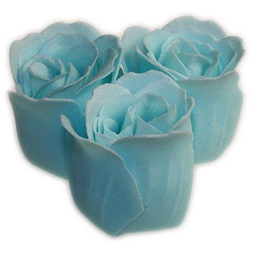 Roses de Bain paquet de 3 Roses - Bleues