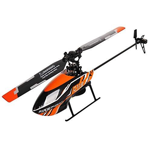 AORED 4 canali single-elica dell'elicottero di Flybarless RC for i principianti a Pratica di caduta di resistenza Concorso Aeromodello con le luci, il migliore regalo di compleanno e di Natale for i b
