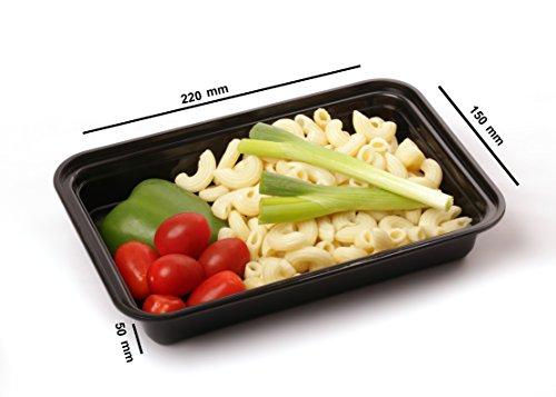Microondas y Lavavajillas Apilable Fiambrera de Pl/ástico Reutilizable con Tapa se Usa en el Congelador Contenedores de Alimentos con 3 Compartimiento sin BPA Bento Box Ebook 14 piezas