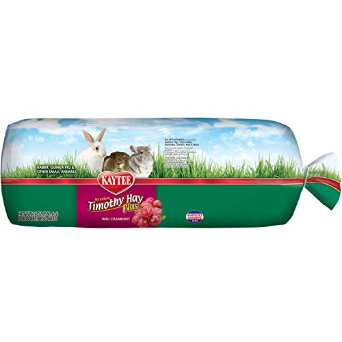 Kaytee Timothy Hay Plus, Cranberry, 24-Ounce, Standard Packaging