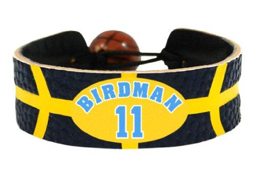 NBA Denver Nuggets Chris Andersen Team Color Jersey Bracelet