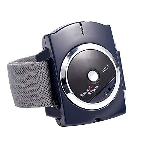 Muñequera antirronquidos, Dispositivo de ronquido Pulsera Conexión para Dormir Reloj antirronquidos Tapón de ronquido Inteligente Dejar de roncar Parche biosensor Ayuda Reloj de Pulsera