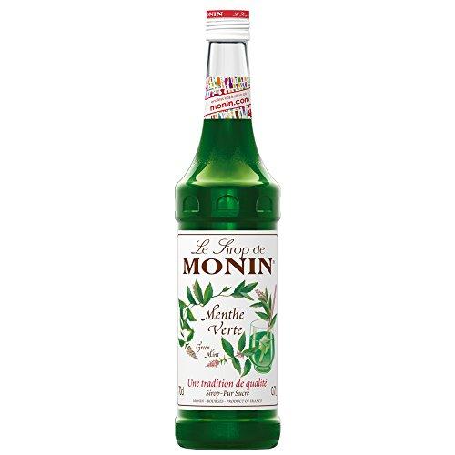 Monin Menthe Verte - Sirup de menta verde, 700 ml (caja de 6)